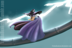 Darkwing Duckkk by TrishaBeakens