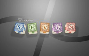 windows 7 wallpaper silver by TravisLutz