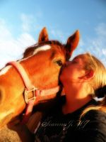 Horse Love by siannajmj