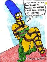 Marge in trouble III. by coatl-X
