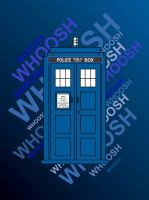 Tardis Whoosh Doctor Who by nati-nio