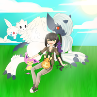 pokemon contest//not finished lol by MellowBunBun