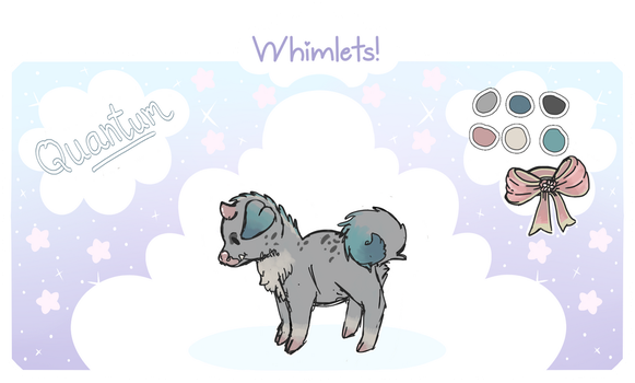 [Whimlet Registration Sheet] Quantum by PeppermintGecko