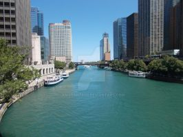Chicago River by amaranth95