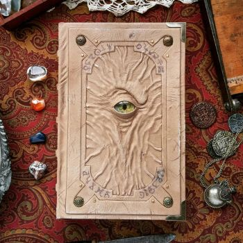 The Alchemist's vision notebook by MilleCuirs