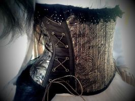 Brocade, Suede, and Lace by sarlume