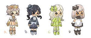 Teeny adopts - OPEN by MayonnaiseBottle