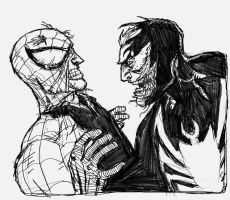 Spidey and Venom 089 by jessemunoz