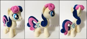 Plushie: Bon Bon - My Little Pony: FiM by Serenity-Sama