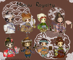 [OPEN] Manju Royalty : Adopts by lavenly