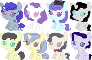 Octavia X Honey Hue adopts - OPEN by TheGreatKatsby10501