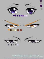 Bleach eyes by rukichigo