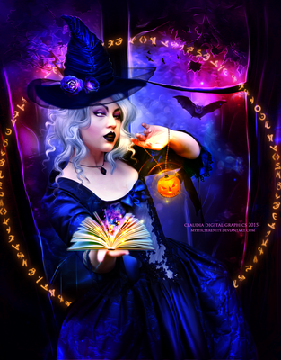 I Put A Spell  On  You by MysticSerenity