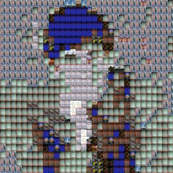 Photo Mosaic Test - Disney, Vertical Palette by NickNackGus
