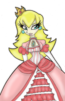 Princess Peach :FLAT COLOR: by Prepare-Your-Bladder