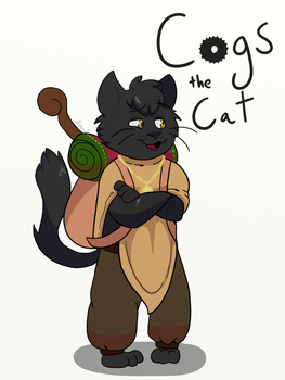 Cogs the Cat by Sydthekid15