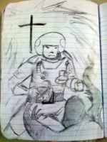Holy Spaceman by Ferreson