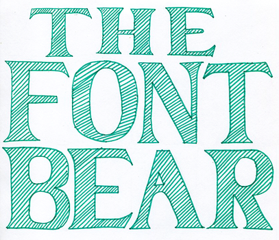 The Font Bear Project by Bionic-heart