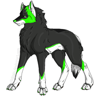 Wolf Design by kijonaia