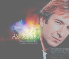 Alan Rickman. Nothing more by MarySeverus
