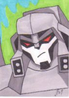 Animated Megatron by Robomonkey82