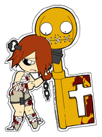 Aba -Guilty Gear- Stickie by kitty-chan