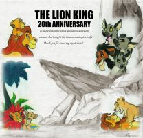 The Lion King 20th Anniversary by wahyawolf