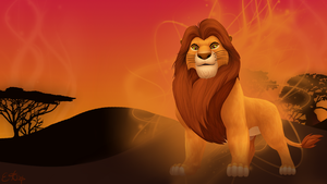 Mufasa Wallpaper by OEmilyThePenguinO