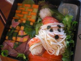 Santa Bento by level5pencil