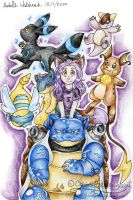 Wolfloner2004's Pokemon team by mmishee