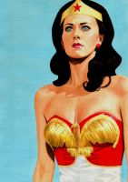 Wonder Woman (Lynda Carter) by Promethean-Arts