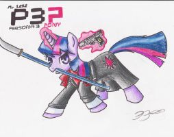 Ponysona 3 - Twilight Sparkle by Shadewingz