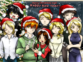 The Cullens - Happy Holidays by Robbuz