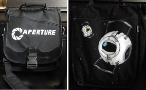 Aperture Laptop Bag by TheUFOSareKawaii