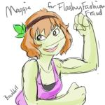 Maggie For FlashyFashionFraud by BrushBell