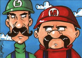 Mario Bros.March of Dimes 2010 by dsoloud