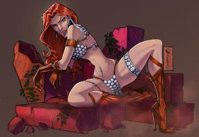 Red Sonja by andersonmahanski