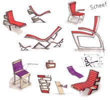 scheef chair sketches by Heersch