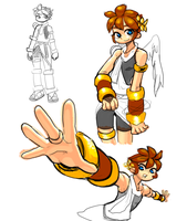 kid icarus by jaeyun213