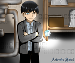 Artemis Fowl - C-cube by Lostinthedreams