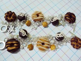 Donut Bracelets by KPcharms