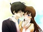 Shinichi x Ran by Maho-Urei
