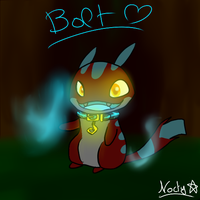 Bolt the Quixel by PokeGirl151