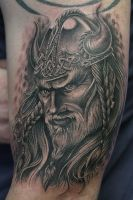 viking warrior by Remistattoo