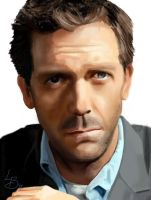 Hugh Laurie by Lydia-Burns