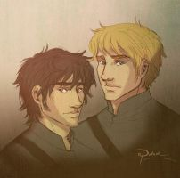 CP Gabriel and Gideon by palnk