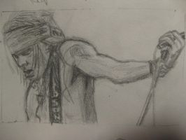Axl Rose by chitraah