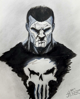 The Punisher by JaredTheHet