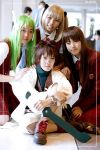 Negima : Negi and Students by Bluedknn