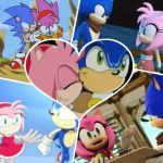 Sonic and Amy, SONAMY forever. by Angelgirl10